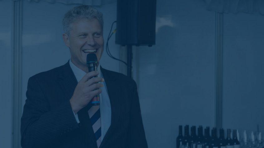 Thomas Murrell Keynote Speaker Microphone